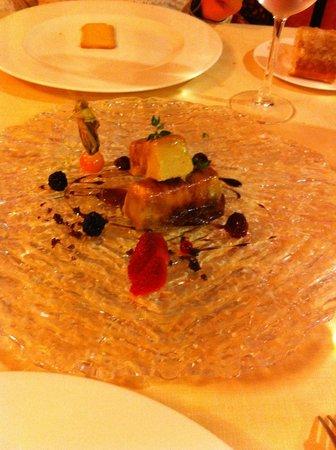 Salles Hotel La Caminera Golf & Spa Resort: Cena - Foie
