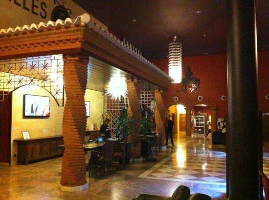 Salles Hotel La Caminera Golf & Spa Resort: Recepción