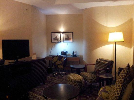 Movenpick Hotel West Bay Doha : 08-08-2013 lounge area