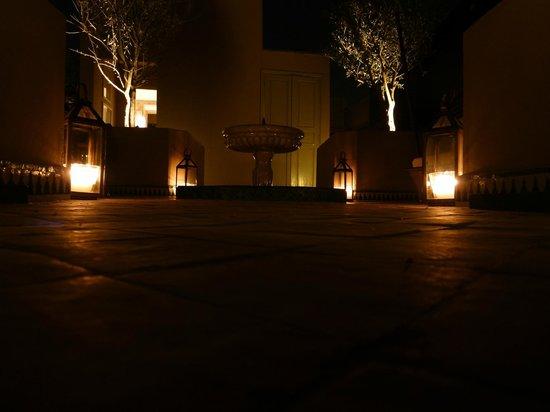 Riad Idra: la terrasse
