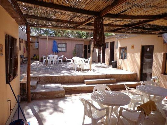 Hostal Intipara: The nice courtyard