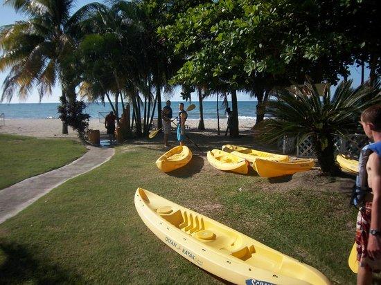 Palma Real Beach Resort & Villas: Kayaking available