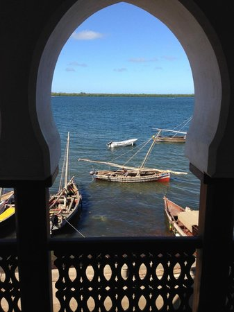Lamu House Hotel: Room with a view