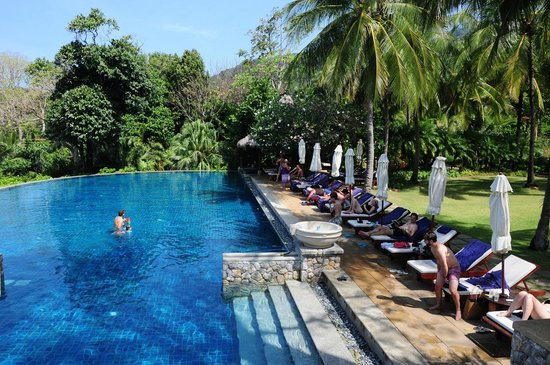 Pimalai Resort and Spa: Der untere Pool.