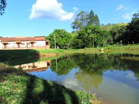 Hotel Fazenda Villa Verona : Lago pesca esportiva