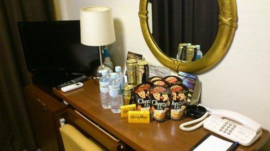 Hotel Villa Fontaine Kayabacho: おつまみ