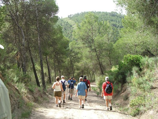 Hospederia la Mariposa: Setting off on a Hotel Mariposa walk