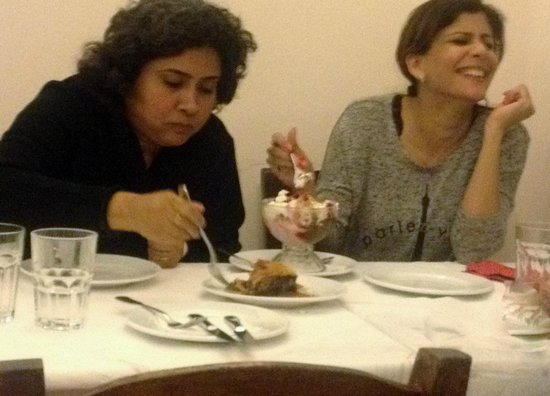 Mama's House: Deveshree & Preeti dig into a massive helping of Ice Cream