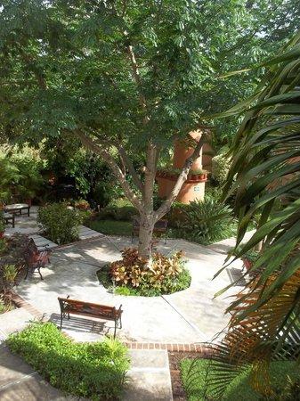 Hacienda San Miguel Hotel & Suites: courtyard