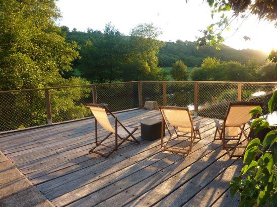 Moulin Pont Vieux : terrasse