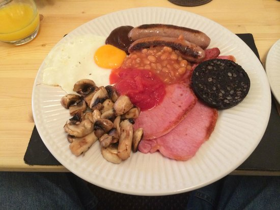 Waves Hotel: Excellent Full English Breakfast