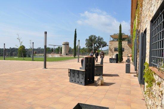 Hotel Pla De Palau: La Masia por fuera