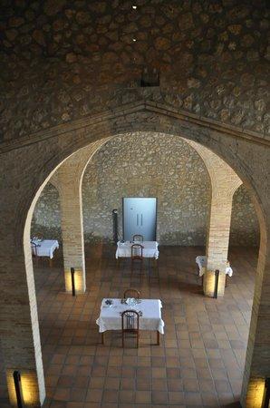 Hotel Pla De Palau: El comedor