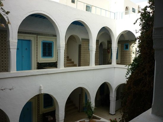 Djerba-Erriadh : La cour