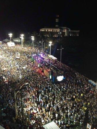 Carnaval en Salvador de Bahia : Concentração e saída dos blocos!