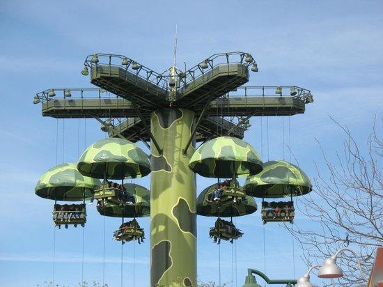 Walt Disney Studios: i paracadute