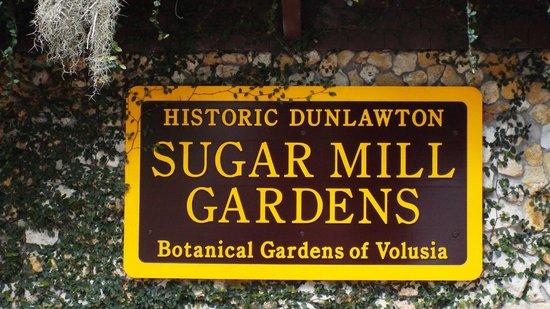 Dunlawton Sugar Mill Gardens : Sugar Mill Gardens
