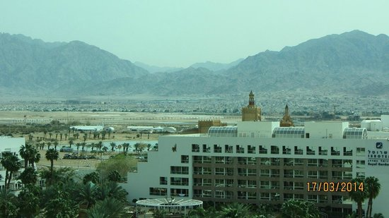 Queen of Sheba Eilat: View on Eilat and Aqaba