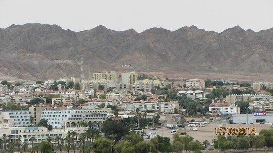 Queen of Sheba Eilat : View on Eilat