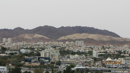 Queen of Sheba Eilat: Eilat and its beautiful mountains