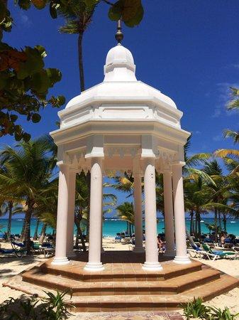 Hotel Riu Palace Punta Cana : The beautiful gazebo at Riu Palace Punta Cana