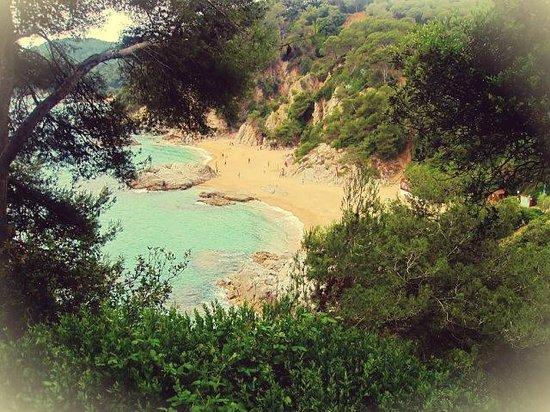 Jardin Santa Clotilde : Вид на Средиземное море