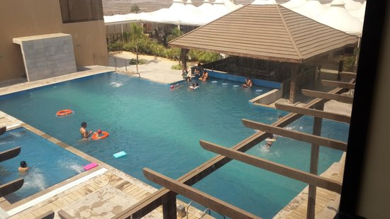 Pool View From Room Picture Of The Gold Beach Resort Daman Tripadvisor