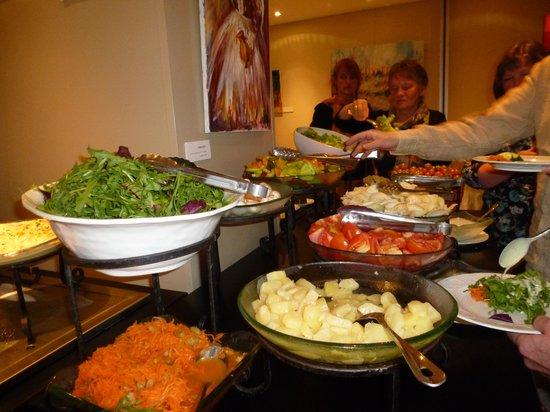 Hotel Prima Royale: buffet des entrées