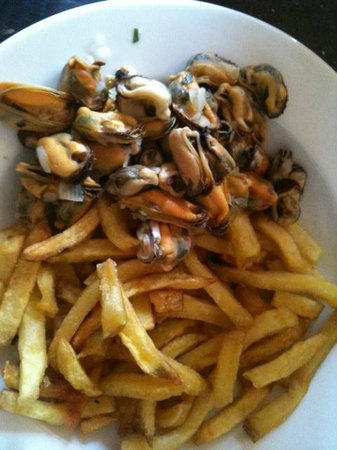 Le Moulin Saint Georges : Moules Frites