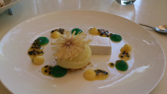 Cuvée Restaurant at Simonsig: panna cotta