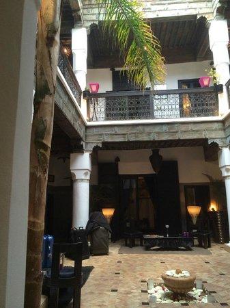 Riad Terra Bahia: der Innenhof des Riads