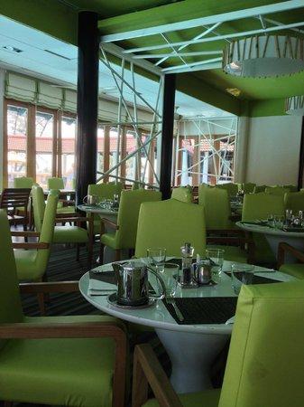 L'un des 5 restaurants complétement rénovés