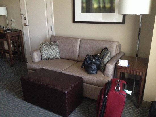 Embassy Suites by Hilton Springfield: Sofa (King studio suite)