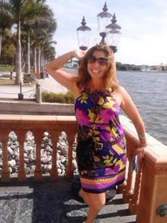 St. Armands Circle: At the Cad'zan.... literally felt transported to Venice Italy, but wanted to stay happily in Sar