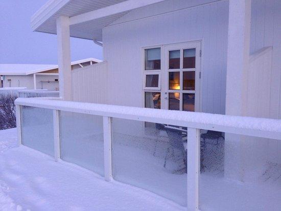 Hotel Grimsborgir : Our south facing Appt.