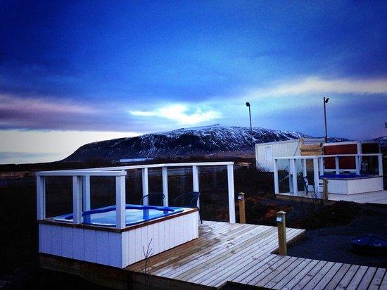 Hotel Grimsborgir: Hot Tub