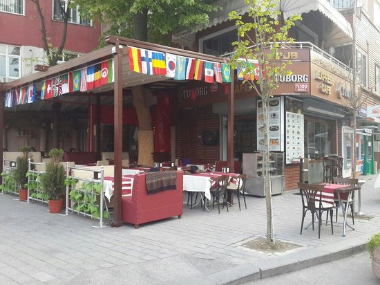 Express restaurant cafe bar istanbul omd men om for Gardening express reviews