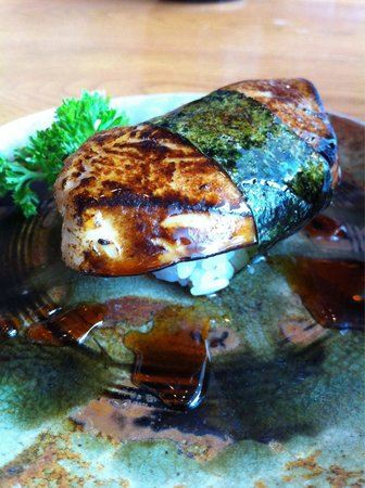 Shori Sushi House: foie gras sushi- highly recommended