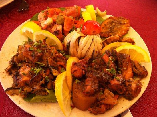 Trattoria Ducezio : Antipasto di pesce