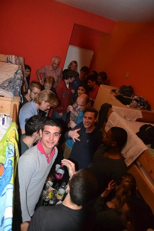 Bazar Hostel: having fun in the room