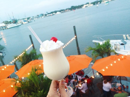 Matanzas on the Bay: View from the Upper Deck bar