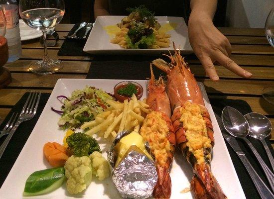 Ridee Villa: seafood!
