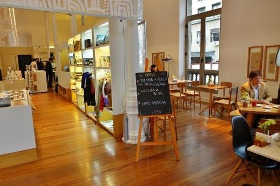 Cafeteria Allegro: Cafe and shop
