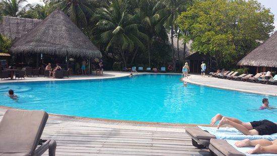 Kuredu Island Resort & Spa : la piscine