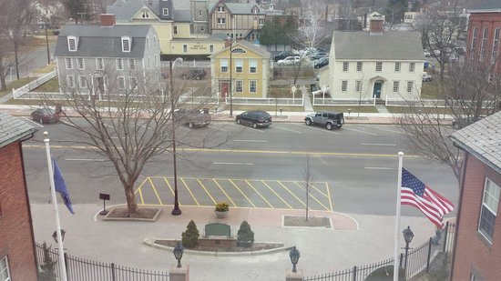 Inn at Middletown: View from our room.