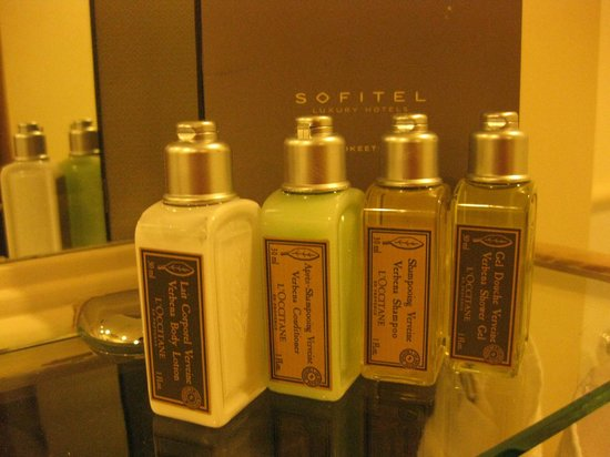 Sofitel Angkor Phokeethra Golf and Spa Resort : l'occitane
