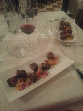 Osteria Bastia 9: Rinderfilet exzellent!