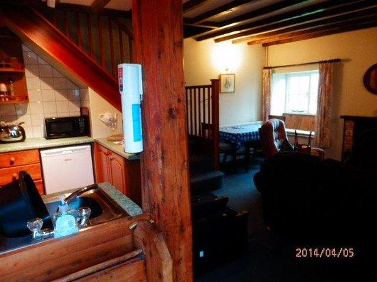 inside smallest cottage