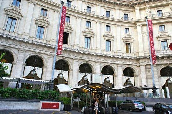Palazzo Naiadi: Boscolo Excedra Roma.