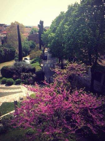 Hotel Il Villino: Vista dalla suite il pavone